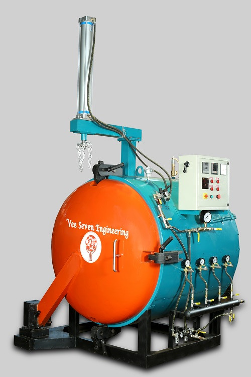 Pre- Cured Electric Chamber with Manual Lock Closure suitable for 3HCV Tyres and 4 LCV Tyres