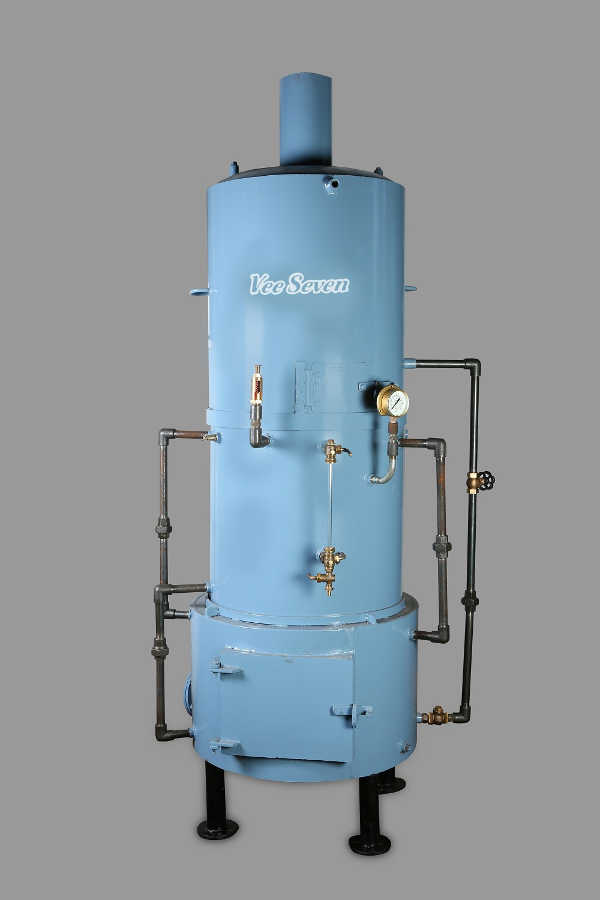Vee Seven Triple Tank  Vertical Fire tube Boiler